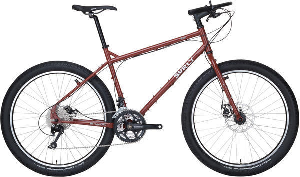 Surly Troll Color: Maroon