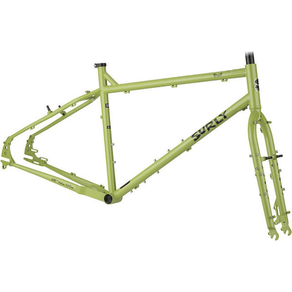 Surly Troll Frameset Color: Pea Lime Pie Soup