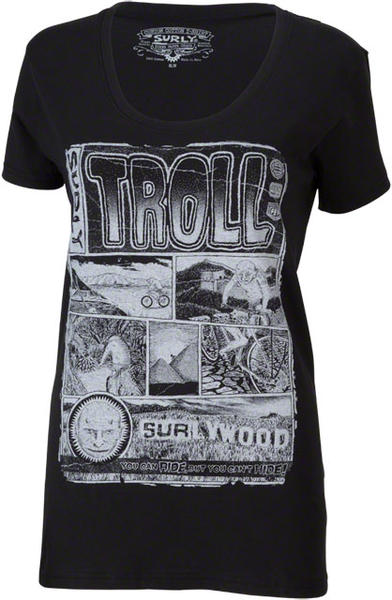 Surly Troll Tee - Women's Color: Black