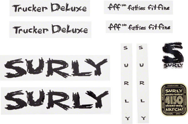 Surly Trucker Deluxe Decal Set