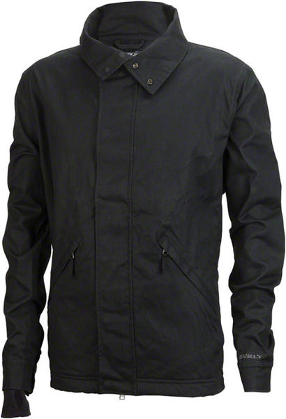 Surly Canvas Riding Jacket Color: Marianas Black