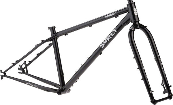 Surly Wednesday Frameset Color: Black