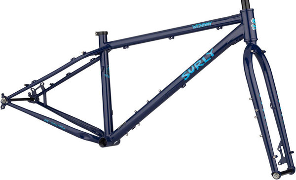 Surly Wednesday Frameset Color: Blue Monday