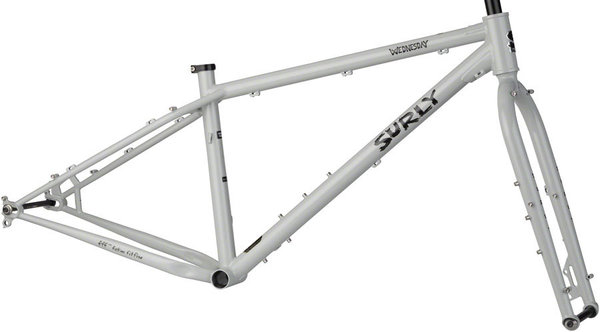Surly Wednesday Frameset Color: Gray Sweatpants