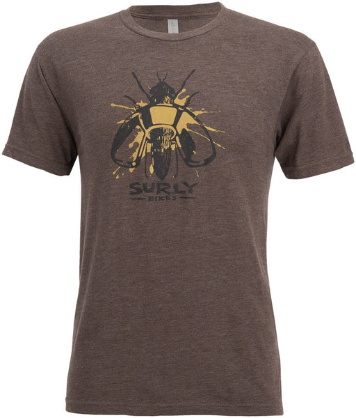 Surly Wingnut T-Shirt Color: Brown