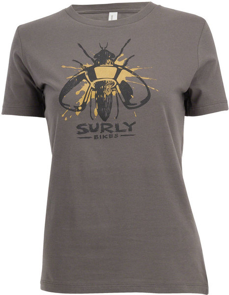 Surly Wingnut T-Shirt Color: Gray
