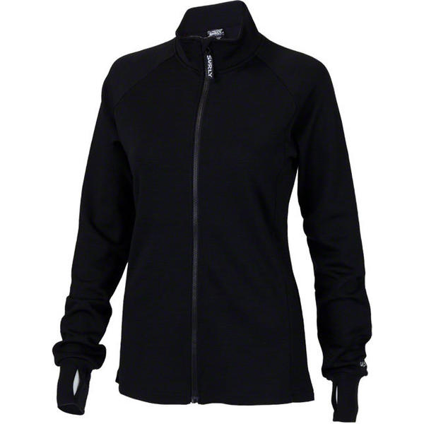 Surly Long Sleeve Women's Jersey Color: Almost Black