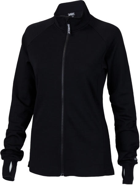 Surly Women's Long Sleeve Wool Jersey Color: Black