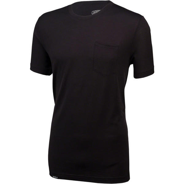 Surly Wool Pocket T-Shirt Color: Black