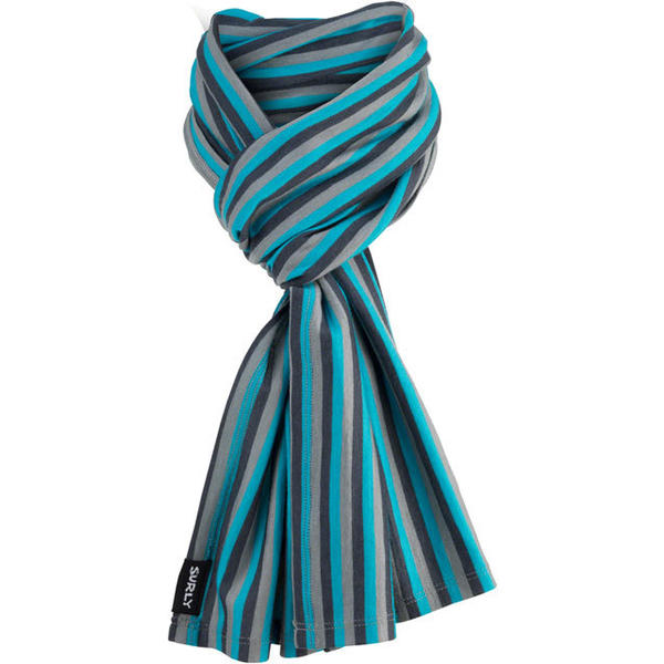 Surly Wool Scarf Color: Blue/Gray