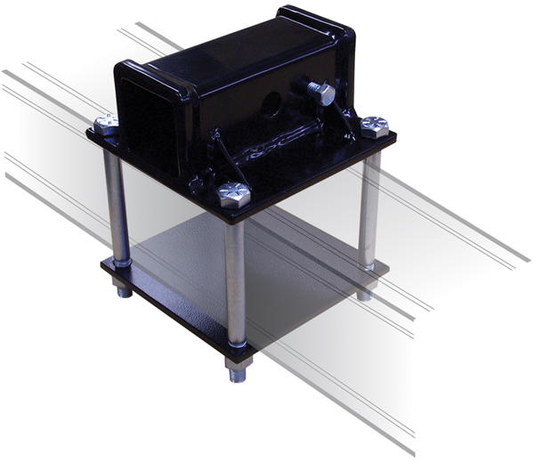 Swagman 2-inch Receiver RV Bumper Adapter