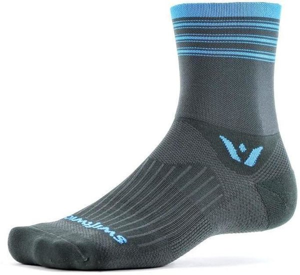 Swiftwick ASPIRE Four Color: Gray Blue