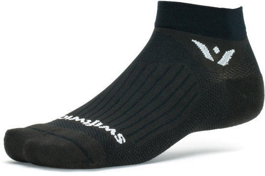 Swiftwick Aspire One Socks Color: Black
