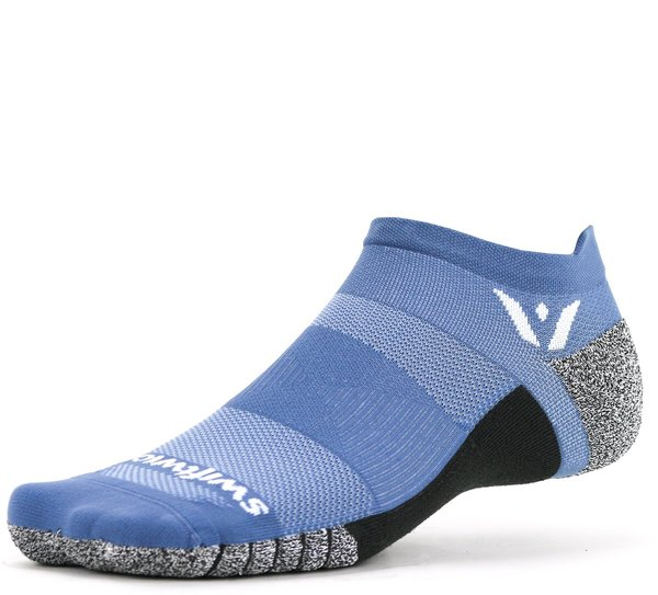 Swiftwick FLITE XT Zero Tab Color: Slate Blue