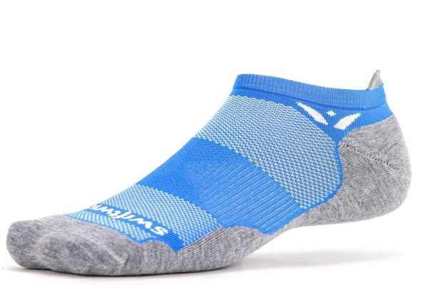 Swiftwick Maxus Zero Tab Color: Azure