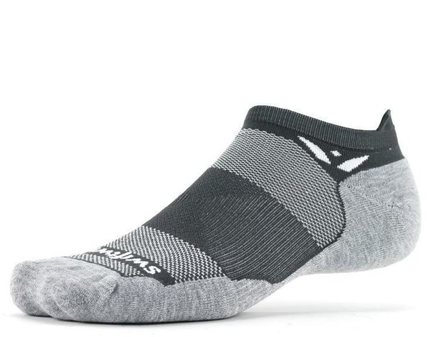 Swiftwick MAXUS Zero Tab Color: Gray