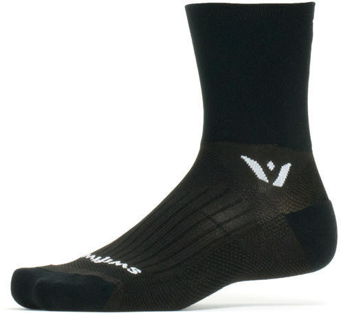 Swiftwick Performance Four Socks Color: Black