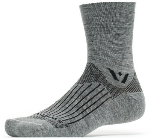 Swiftwick Pursuit Four Socks Color: Heather