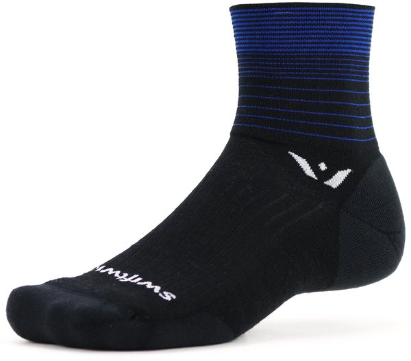 Swiftwick PURSUIT Four Color: Stripe Blue