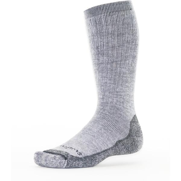 Swiftwick Pursuit Hike Eight Heavy Cushion Color: Heather Gray