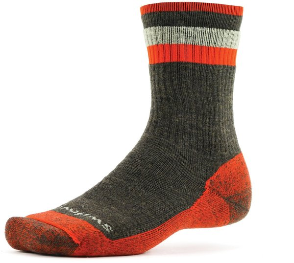 Swiftwick Pursuit Hike Six Medium Cushion Color: Chestnut Orange