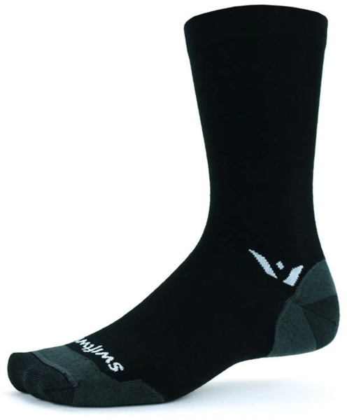 Swiftwick Pursuit Seven Ultralight Color: Black
