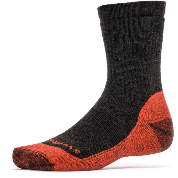 Swiftwick Pursuit Six Socks Color: Brown Orange
