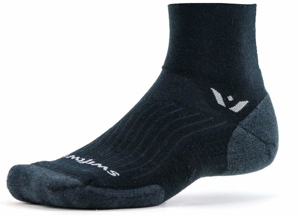 Swiftwick Pursuit Two Color: Black