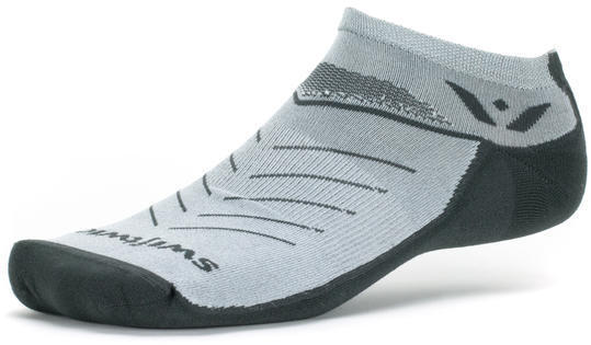 Swiftwick Vibe Zero Socks Color: Gray