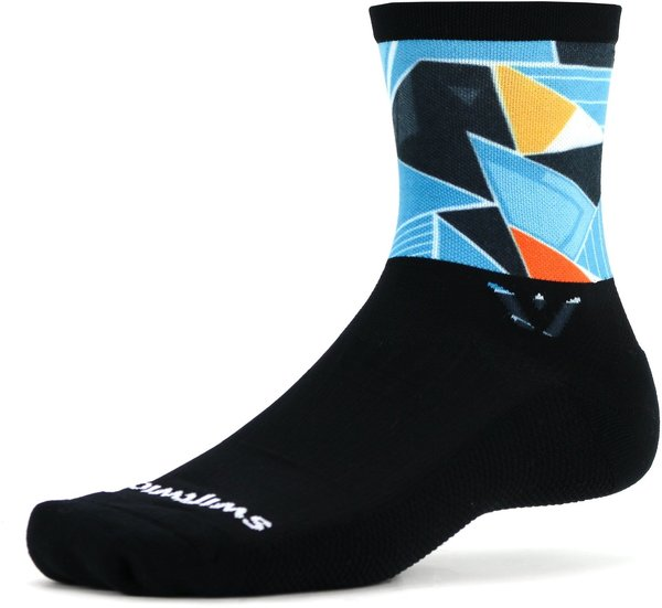 Swiftwick VISION Five Impression Color: Deco