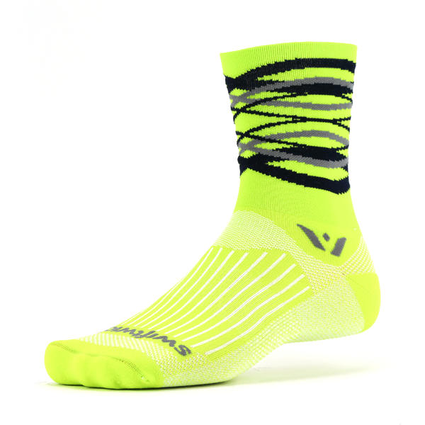 Swiftwick Vision Five Infinity Color: Infinity Citron