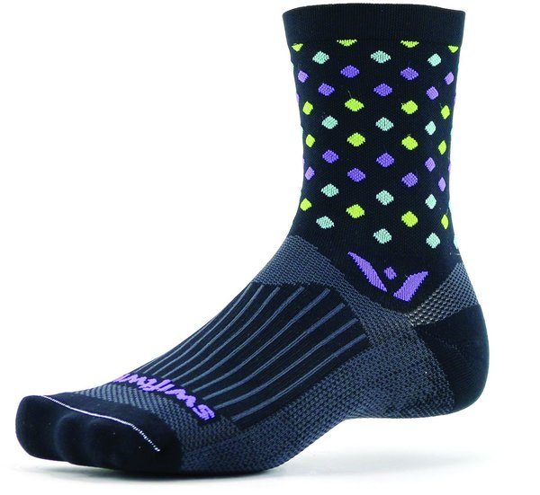 Swiftwick Vision Five Razzle Color: Black
