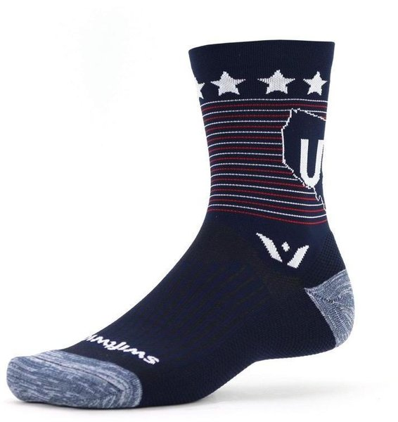 Swiftwick VISION Five Tribute Color: USA