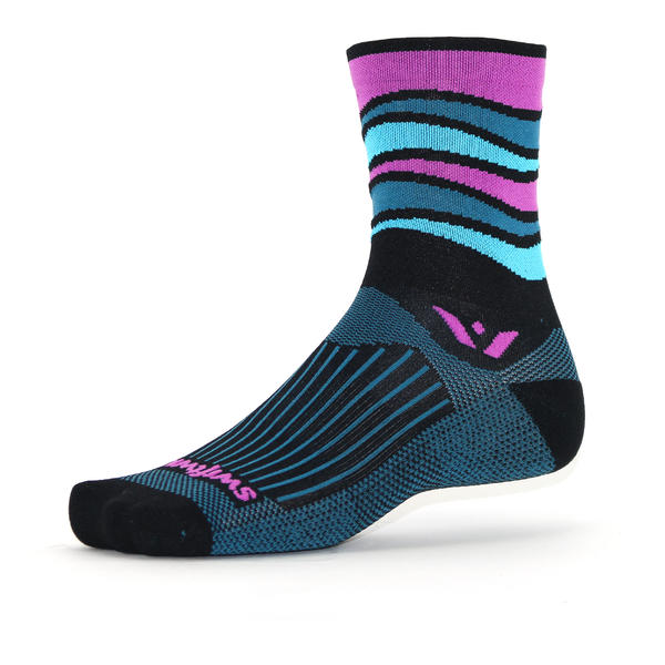 Swiftwick Vision Five Wave Color: Wave Black