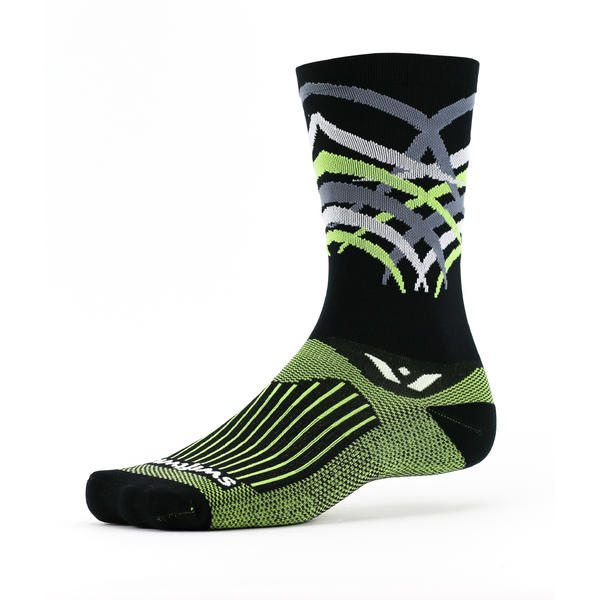 Swiftwick Vision Seven Shred Color: Shred Black