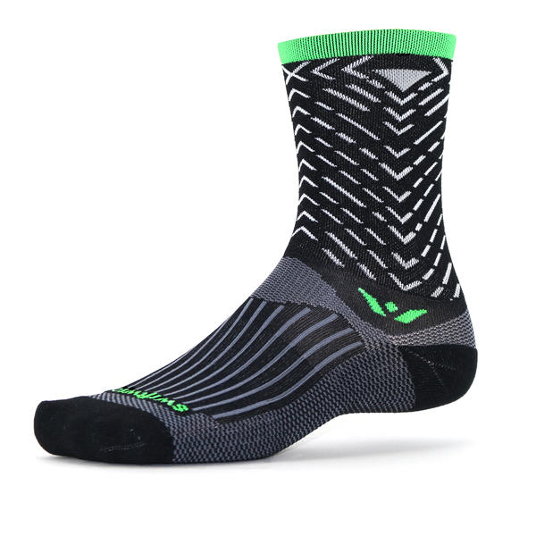 Swiftwick Vision Seven Tread Color: Tread Black