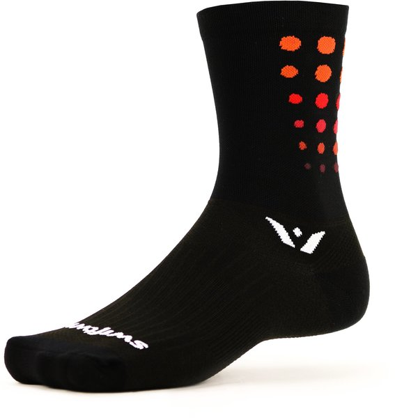 Swiftwick VISION Six Flare Color: Black