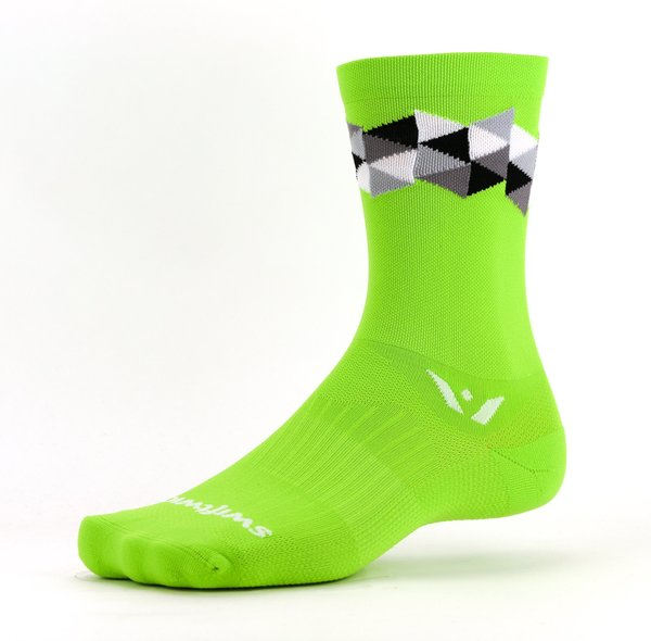 Swiftwick VISION Six Spectrum Color: Green