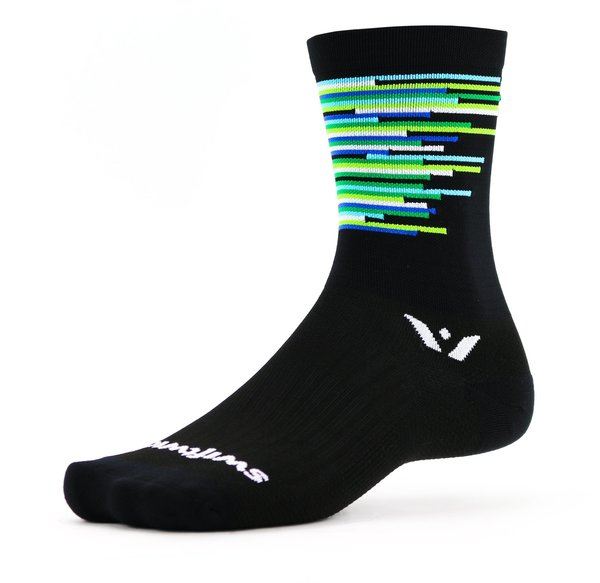 Swiftwick VISION Six Sprint Color: Black