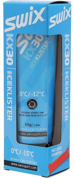 Swix KX30 Blue Ice Klister, 0C to -12C