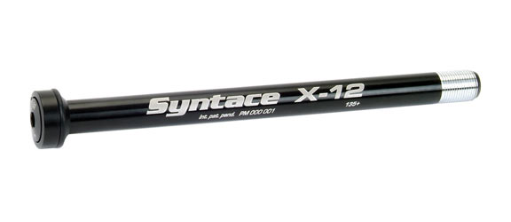Syntace X-12 Thru-Axle Axle And Mounting Parts