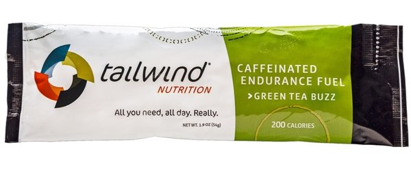 Tailwind Nutrition Caffeinated Endurance Fuel Flavor | Size: Green Tea Buzz | Single Serving