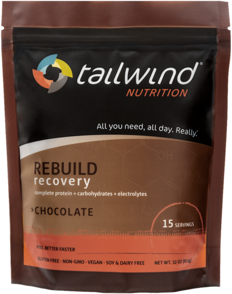 Tailwind Nutrition Rebuild Recovery Flavor | Size: Chocolate | 15-serving