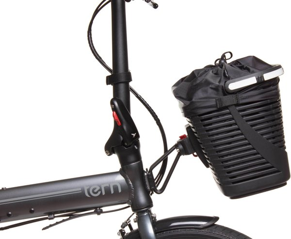 Tern Hold 'Em Basket Image differs from actual product (Luggage Truss sold separately)