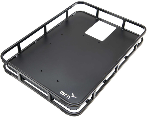 Tern Shortbed Rear Tray Color: Black