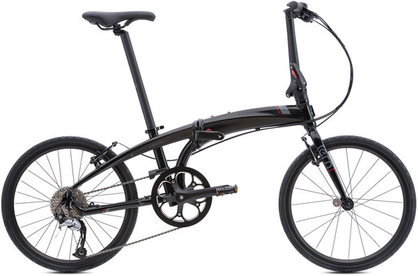 Tern Verge D9 Color: Black/Red
