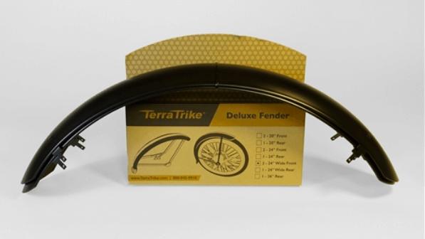 TerraTrike 24-inch Front Fender Set - Extended Width