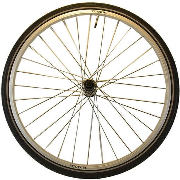 TerraTrike 26-inch Rear Wheel Kit - Single Wall - Silver - CST Tire
