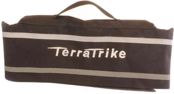 TerraTrike Seat Bag – Extended Width (Silver Logo) Color: Brown