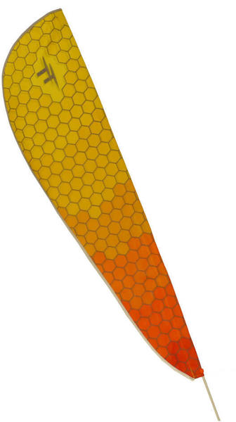 TerraTrike Teardrop Flag Color: Honeycomb